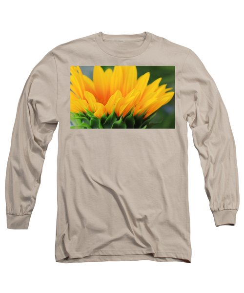 Sunflower Profile Long Sleeve T-Shirt
