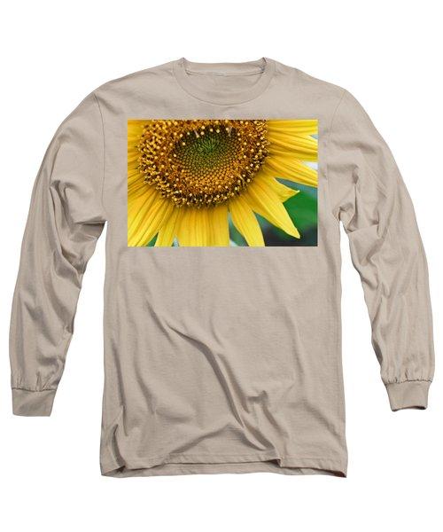 Sunflower Smiles Long Sleeve T-Shirt