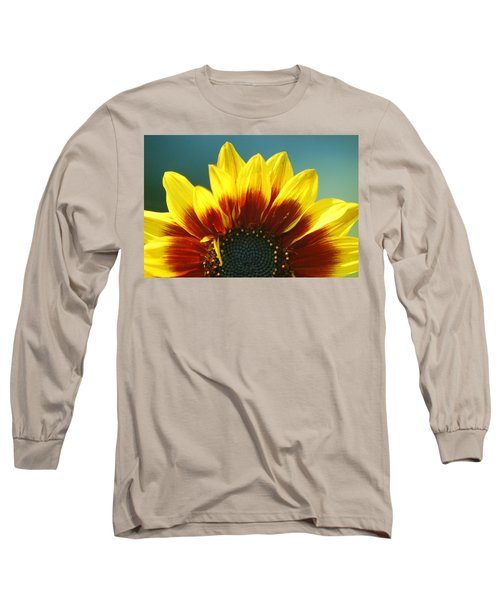 Long Sleeve T-Shirt featuring the photograph Sunflower by Tam Ryan
