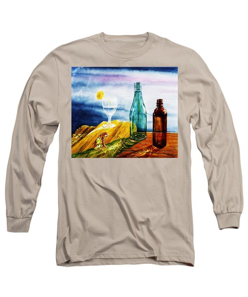 Sunlit Bottles Long Sleeve T-Shirt