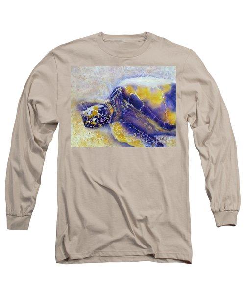 Sunning Turtle Long Sleeve T-Shirt