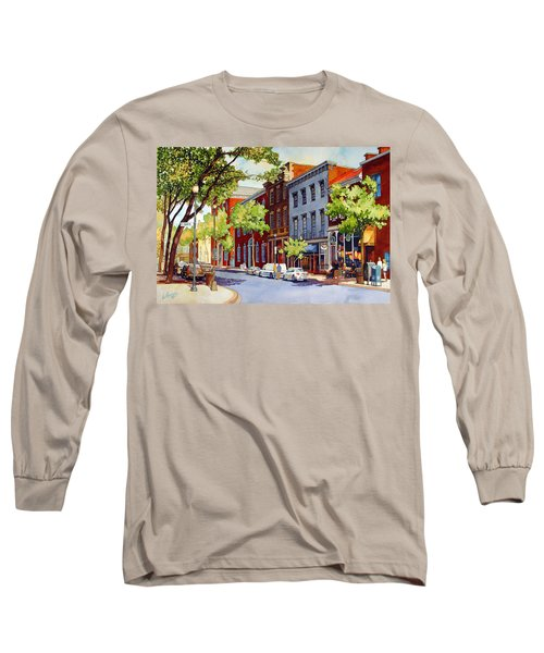 Sunny Day Cafe Long Sleeve T-Shirt