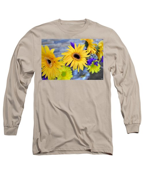 Long Sleeve T-Shirt featuring the photograph Sunny Days by Ally  White
