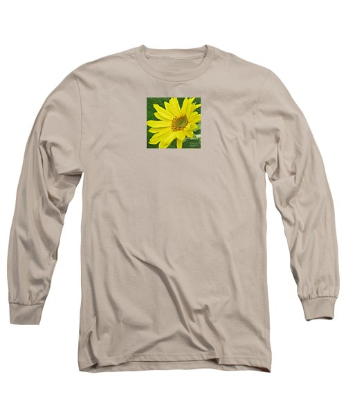 Sunny Side Up Long Sleeve T-Shirt by Janice Westerberg