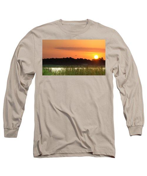 Sunrise At Lakewood Ranch Florida Long Sleeve T-Shirt