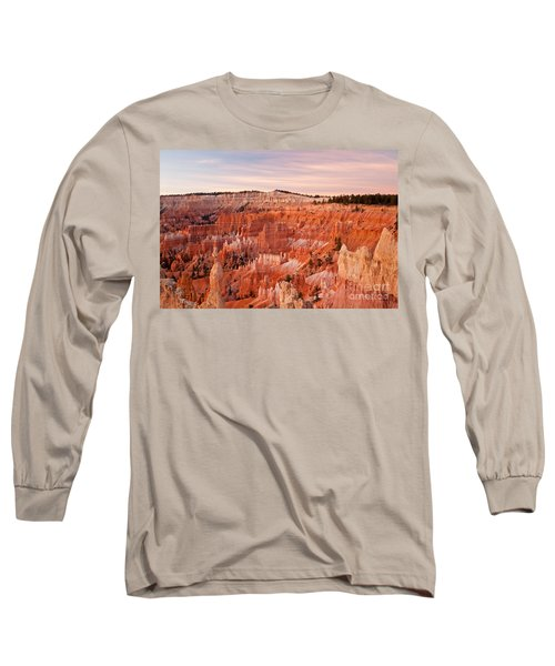 Sunrise At Sunset Point Bryce Canyon National Park Long Sleeve T-Shirt