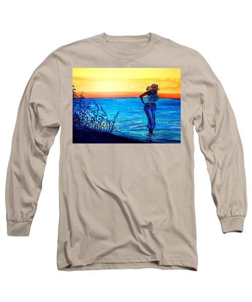 Sunrise Blues Long Sleeve T-Shirt