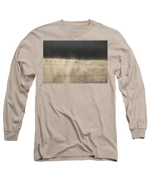 Sunrise Geese Long Sleeve T-Shirt
