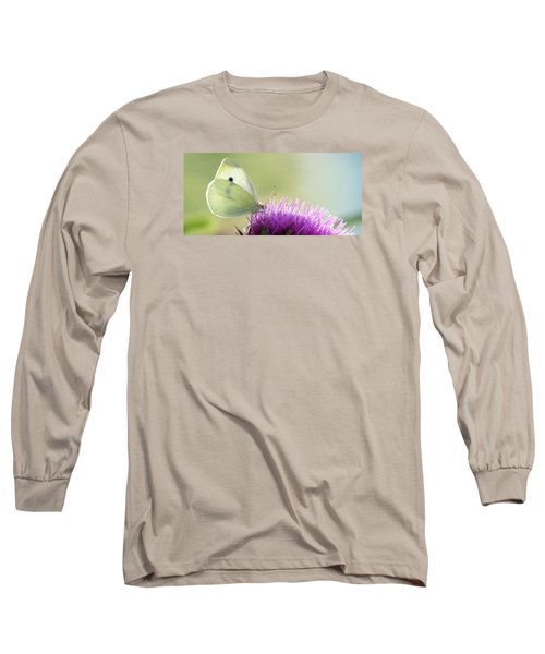 Sunrise In The Thistle Fields Long Sleeve T-Shirt