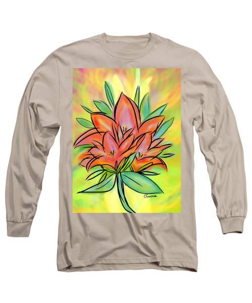 Sunrise Lily Long Sleeve T-Shirt