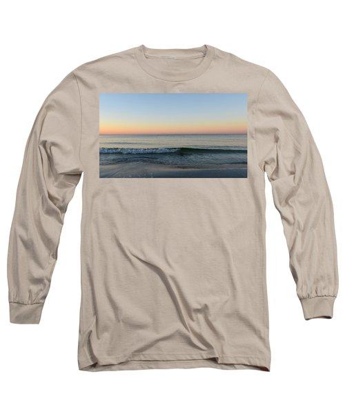 Sunrise On Alys Beach Long Sleeve T-Shirt by Julia Wilcox
