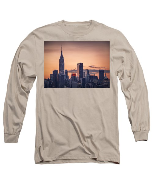 Manhattan Sunrise Long Sleeve T-Shirt