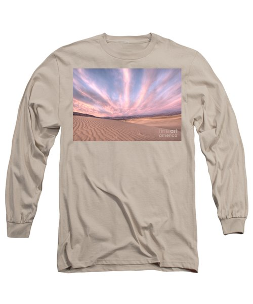 Sunrise Over Sand Dunes Long Sleeve T-Shirt