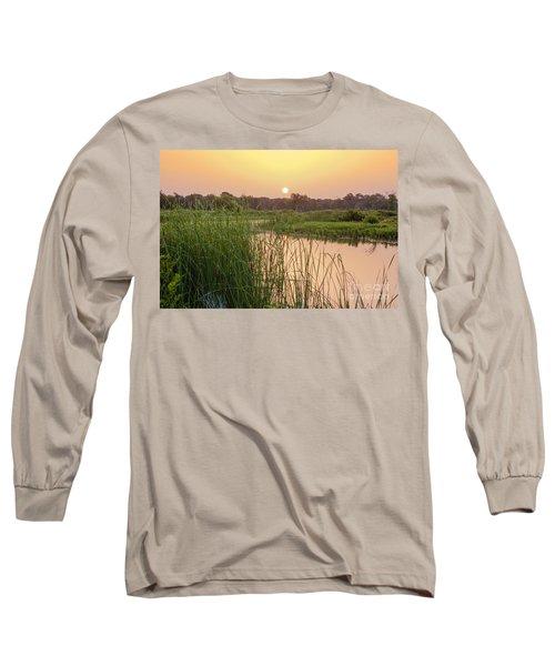 Sunrise Over The Marsh Long Sleeve T-Shirt