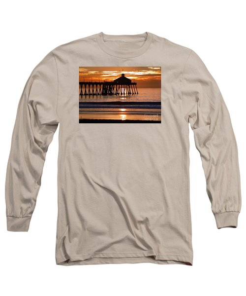 Sunset At Ib Pier Long Sleeve T-Shirt