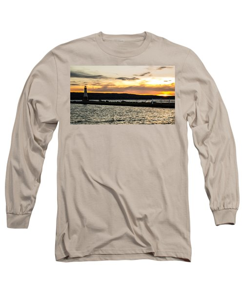 Sunset At Myers Long Sleeve T-Shirt