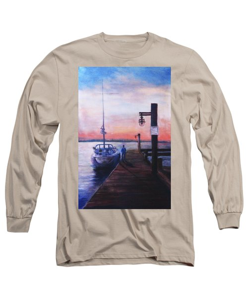 Sunset At Rocky Point Long Sleeve T-Shirt