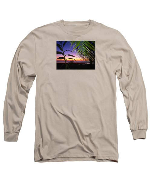 Sunset At Sano Onofre Long Sleeve T-Shirt
