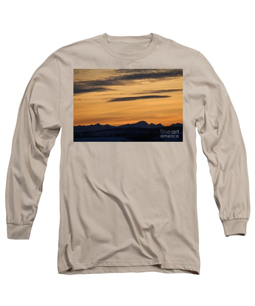 Long Sleeve T-Shirt featuring the photograph Sunset From 567 by Ann E Robson