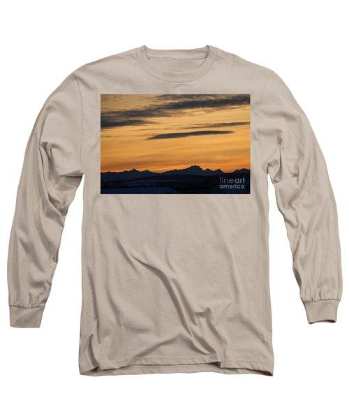Sunset From 567 Long Sleeve T-Shirt