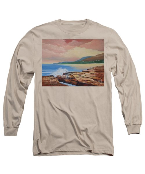 Sunset In New South Wales Long Sleeve T-Shirt