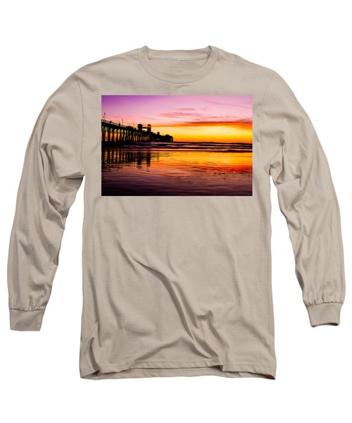 Sunset In Oceanside Long Sleeve T-Shirt