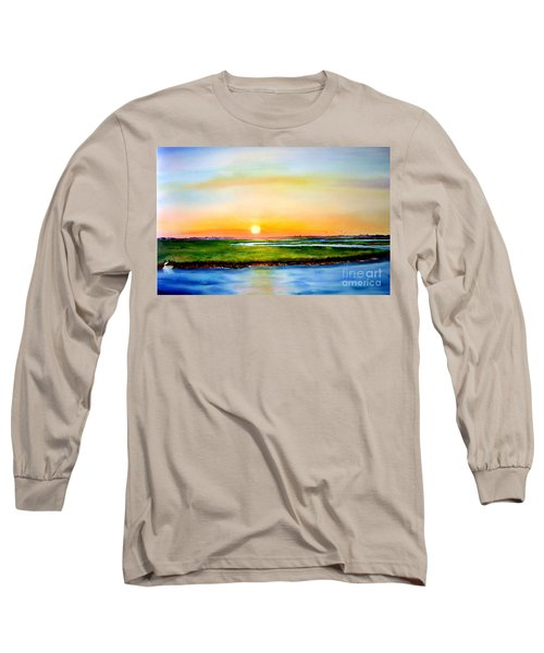 Sunset On The Marsh Long Sleeve T-Shirt