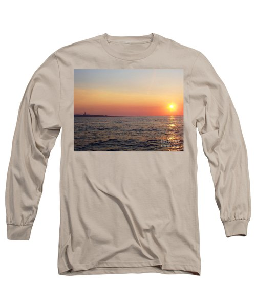 Sunset Over Montauk Long Sleeve T-Shirt