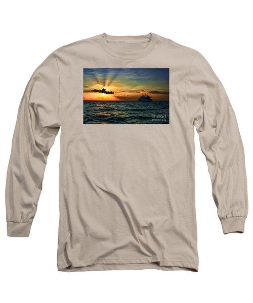 Sunset Regatta  Long Sleeve T-Shirt