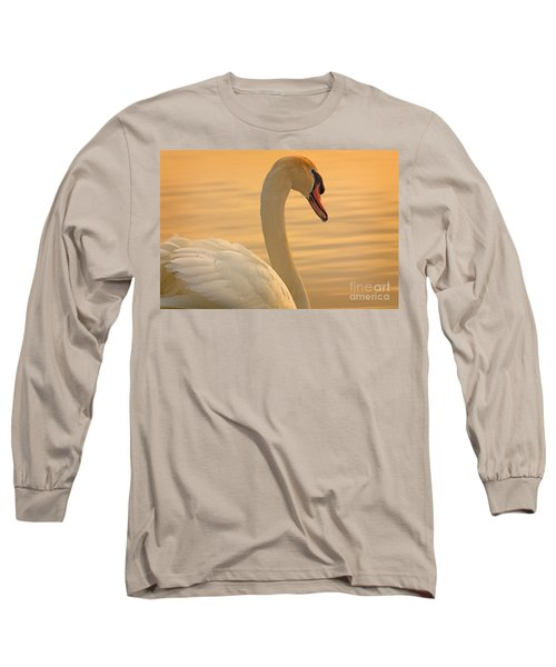 Sunset Swan Long Sleeve T-Shirt