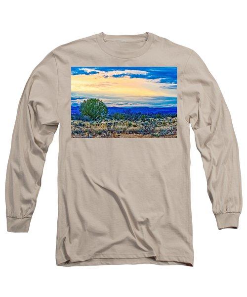Sunset Verde Valley Arizona Long Sleeve T-Shirt