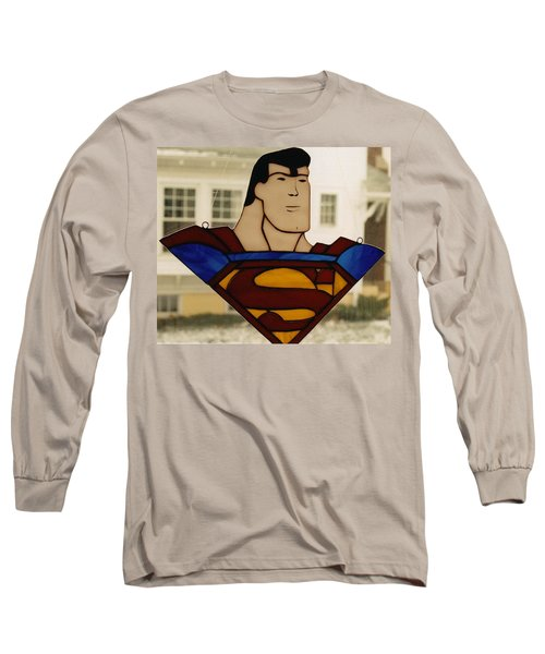 Superman Panel Long Sleeve T-Shirt
