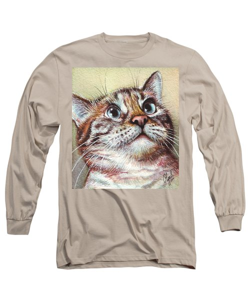 Surprised Kitty Long Sleeve T-Shirt