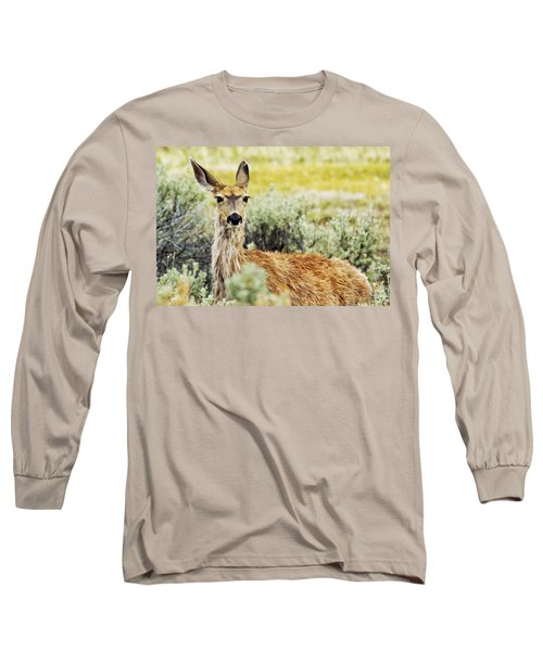 Long Sleeve T-Shirt featuring the photograph Surround Sound by Belinda Greb