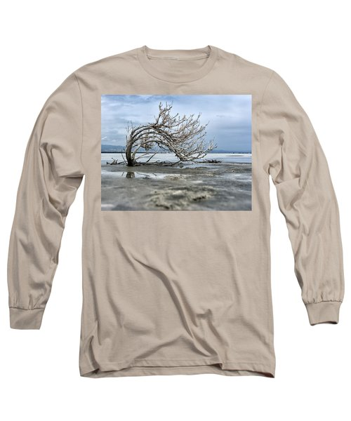 A Smal Giant Bush Long Sleeve T-Shirt by Mike Santis