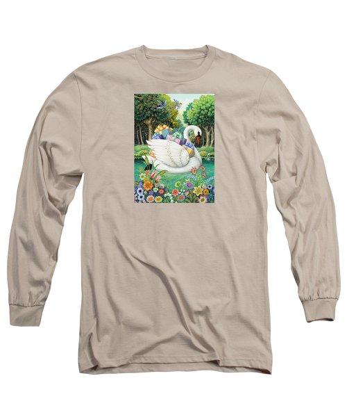 Swan Boat Long Sleeve T-Shirt