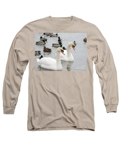 Swan Couple Long Sleeve T-Shirt
