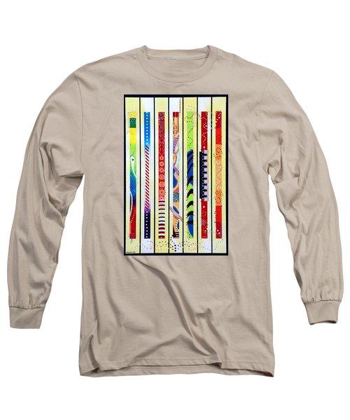 Sweeping Gesture Long Sleeve T-Shirt