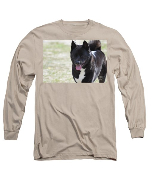 Sweet Akita Dog Long Sleeve T-Shirt