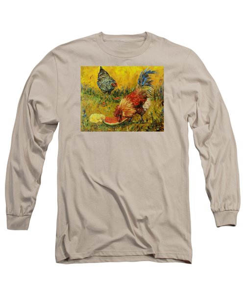 Sweet Pickins, Chickens Long Sleeve T-Shirt