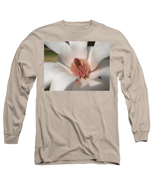 Long Sleeve T-Shirt featuring the photograph Sweet Star Magnolia by Caryl J Bohn