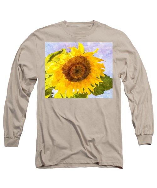 Sweet Sunflower Long Sleeve T-Shirt