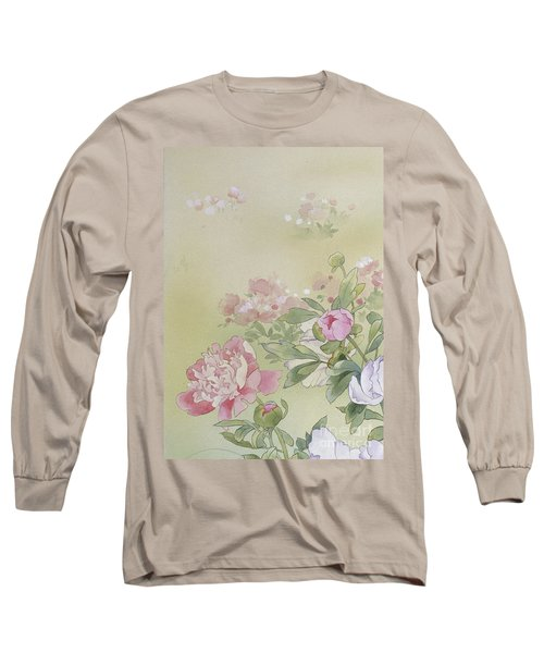 Syakuyaku Crop I Long Sleeve T-Shirt