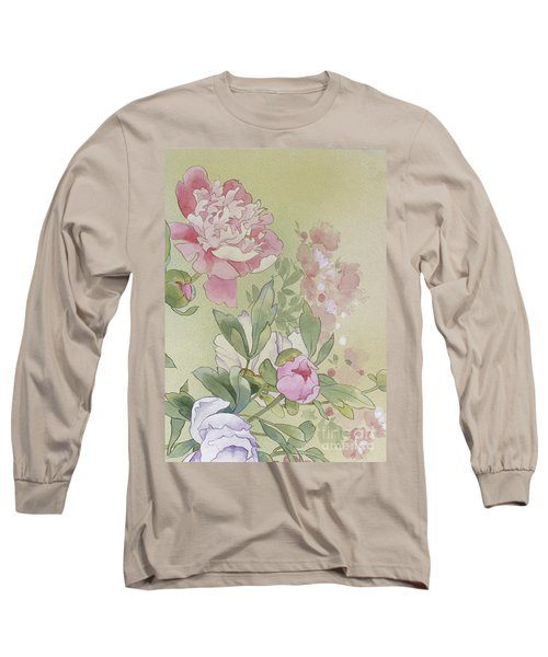 Syakuyaku Crop II Long Sleeve T-Shirt
