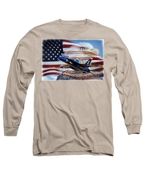 Symbols Long Sleeve T-Shirt by Bob Hislop