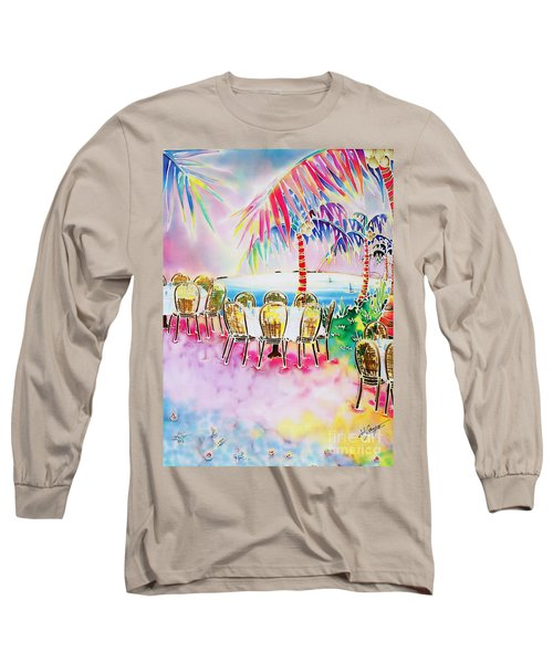 Tables On The Beach Long Sleeve T-Shirt