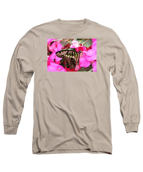 Tailed Jay Butterfly #4 Long Sleeve T-Shirt