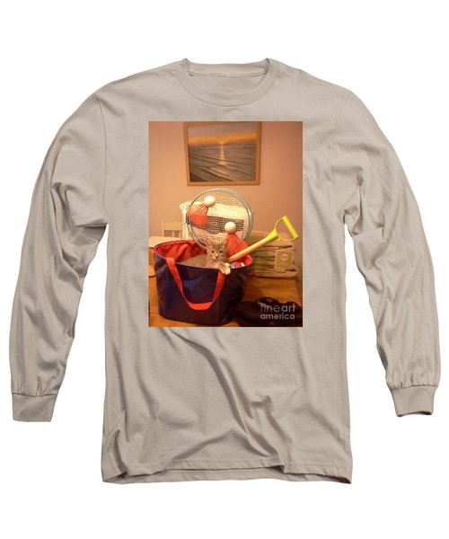 Take Me To The Beach Long Sleeve T-Shirt by Stacy C Bottoms