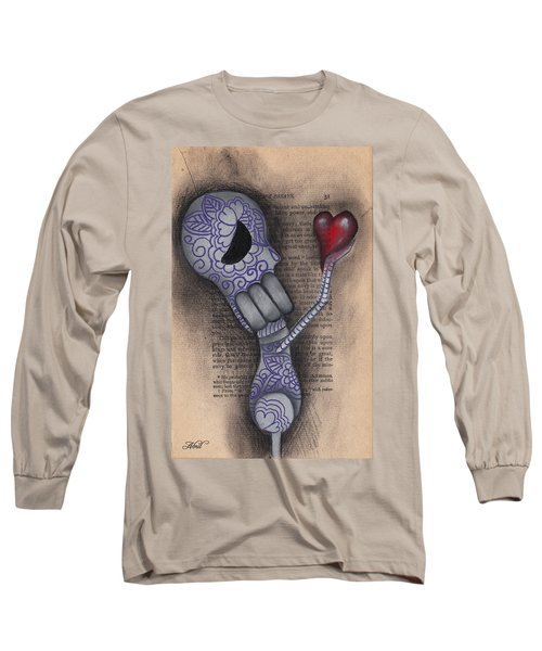 Take This Long Sleeve T-Shirt by Abril Andrade Griffith