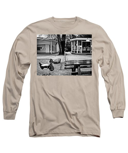 Long Sleeve T-Shirt featuring the photograph Taking A Break by Andy Prendy
